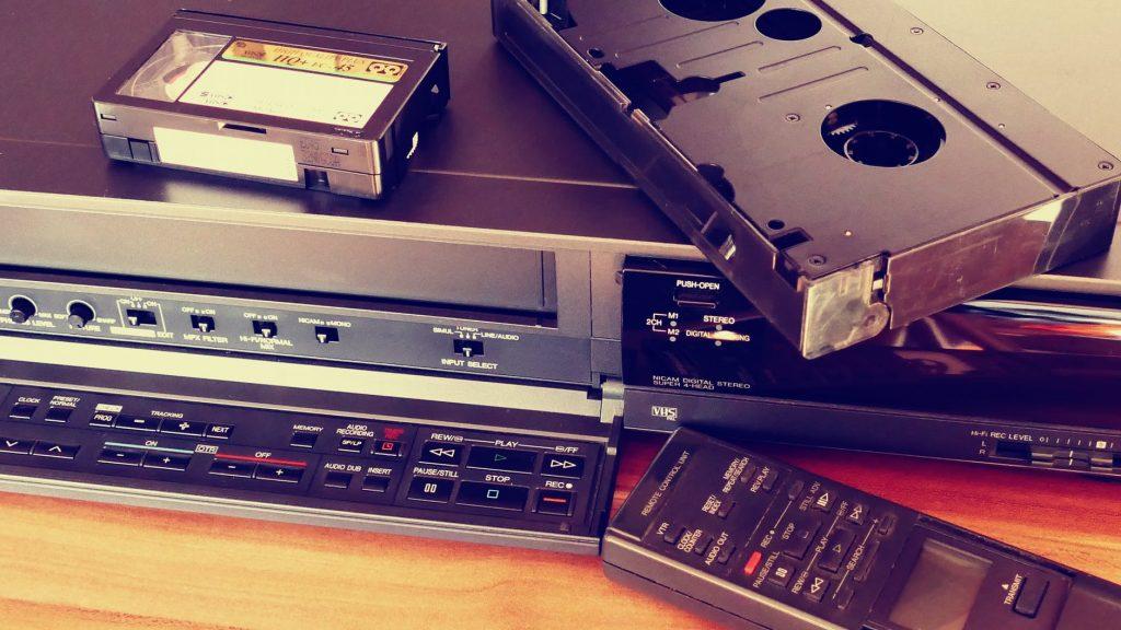 Convert VHS to digital